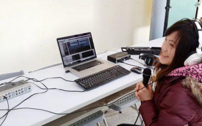 縣立苑裡高中 廣播設備錄音講座