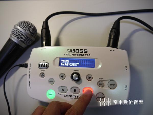 BOSS VE-5 人聲效果器