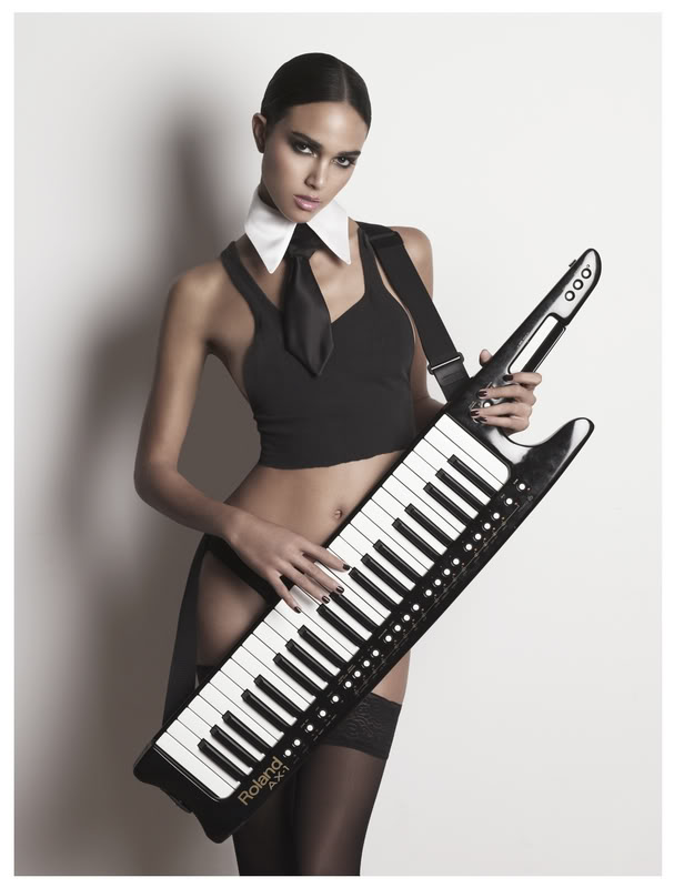 線上編曲教學3 :使用 keyboard 彈奏電吉他