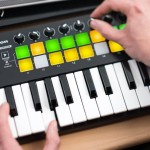 第三代 Novation Launchkey Mini Mk3 主控鍵盤,超輕巧,走到哪就玩到哪!