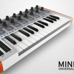 Arturia MINILAB 主控鍵盤,支援 iPad,觸控式滑音