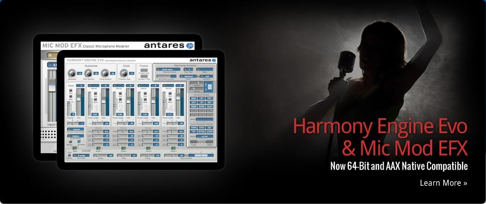 antares HARMON ENGINE EVO 合音器,合聲效果器,自動合聲,人聲合聲器