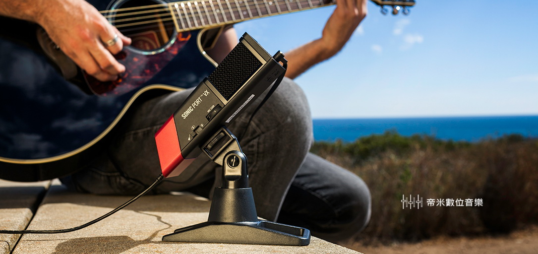 LINE6 SONIC PORT VX 錄音介面,內建電容式麥克風