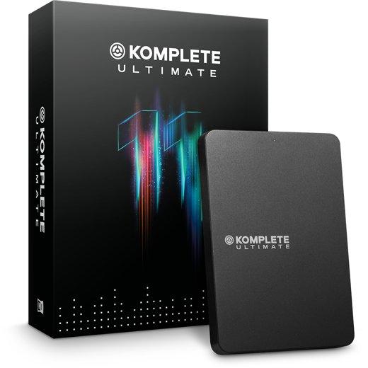Komplete 11 Ultimate 大型音色庫/軟體音色