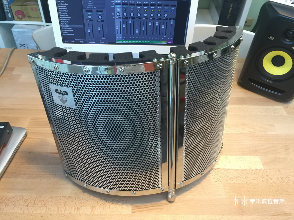 CAD AS22 麥克風遮罩 / 防串音,金屬外框
