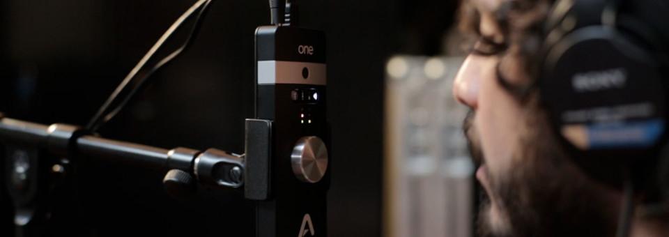 Apogee ONE for iPad & Mac 錄音介面,內建電容式麥克風