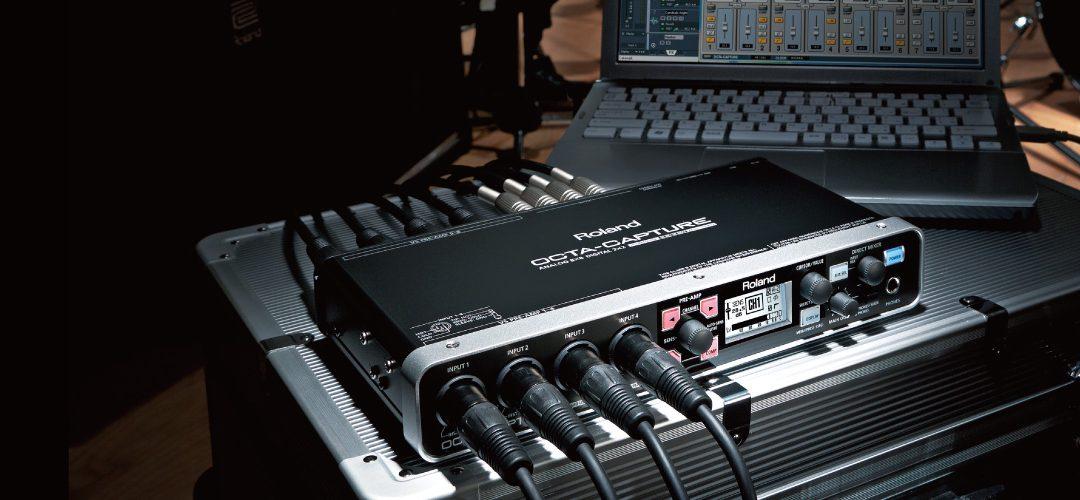 Roland UA-1010,10軌同時收音錄音介面