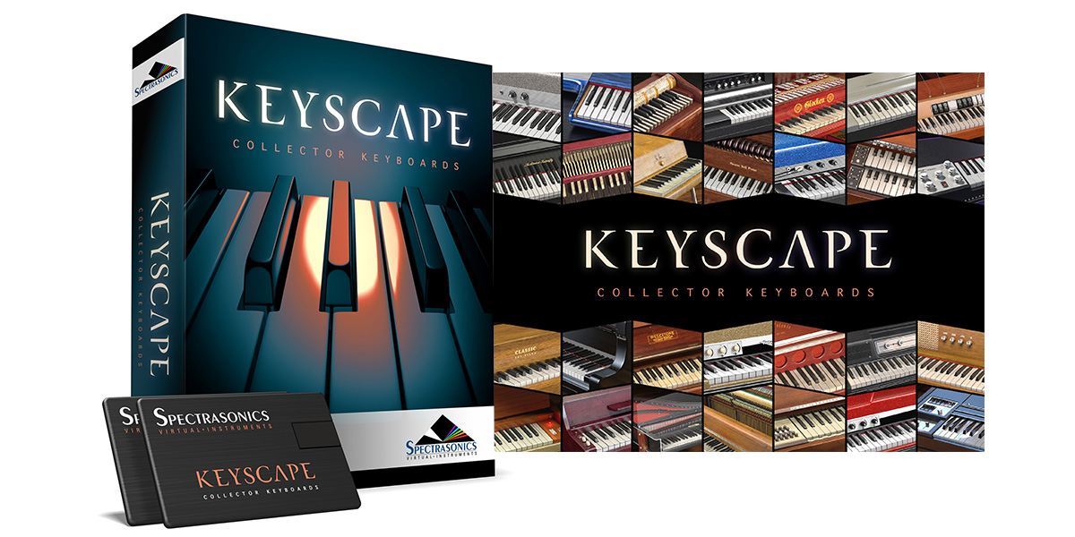 Spectrasonics Keyscape 綜合鋼琴音色庫