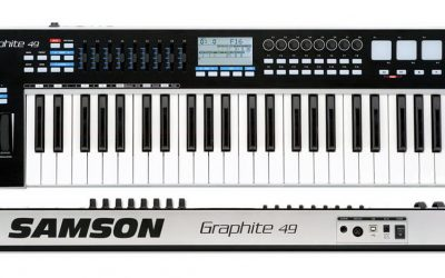 強的出乎意料 SAMSON GRAPHITE 49 主控鍵盤