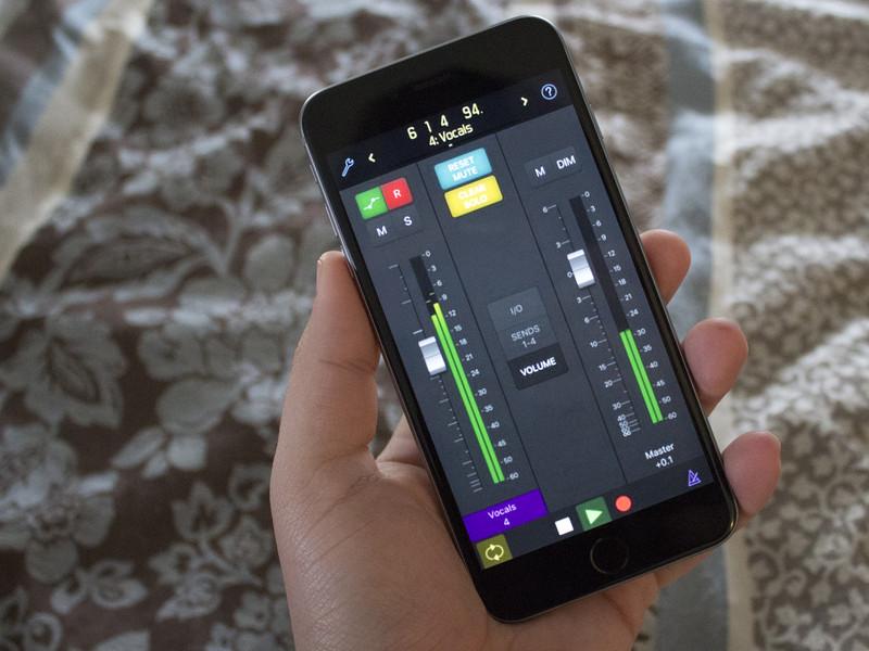 從我的 iPhone 或 iPad 來控制 Logic Pro