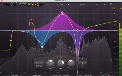 Fabfilter Pro-Q 3 Equalizer 等化效果器,人生要有好 EQ,做音樂更要有好 EQ