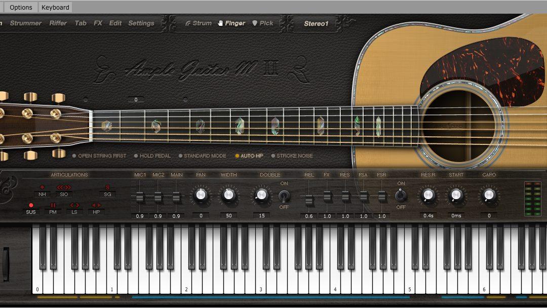 Ample Sound 木吉他 | 電吉他音色庫