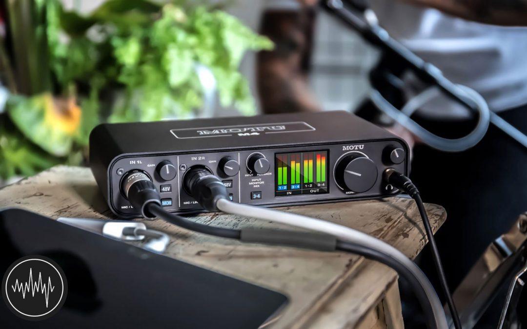 MOTU M4 錄音介面,MOTU M2 錄音介面